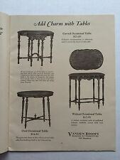 Beautiful 1933 Furniture Catalog by Vanden Boom's Kansas City