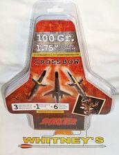 "Swhacker  CROSSBOW  Broadhead 100 Grain -1.75"" Cut - 2191"