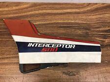D-1986 Honda Interceptor VF500 VF 500 Left Side Cover Fairing Cowl