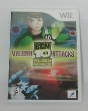 Wii Ben 10 Alien Force Vilgax Attacks. Works. Disc and Case – No Instruction Man
