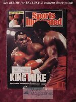 SPORTS Illustrated August 10 1987 MIKE TYSON Pete Rose Janet Evans