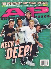 Alternative Press April 2016 Neck Deep, Knuckle Puck  090217nonDBE