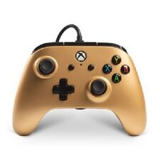 Controller for Xbox One  Enhanced Wired   PowerA - Gold