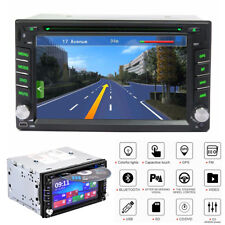 "6.2"" 2Din HD Car Radio Stereo DVD Player GPS Navigator Blueteeth FM AM 8G NA Map"
