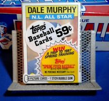 Topps Baseball Cards 1986 Unopened Pack - Dale Murphy - Free Shipping - 28 Cards