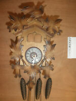 Cuckoo Clock German  Black Forest SEE VIDEO musical 1 Day CK2741