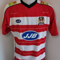 superbe maillot de rugby  Wigan warriors marque jjb taille M angleterre