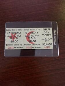 WOODSTOCK PARTIAL 3 DAY TICKET