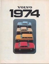 Volvo Range 144 145 164 1973-74 Original UK Sales Brochure No. RSP/PV 1135-74