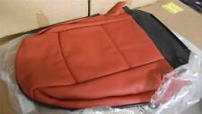 BMW 3 SERIES E93 CONVERTIBLE FRONT SEAT COVER CORAL RED NEW GENUINE 52107253713