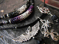 Crystal Unisex Gothic Jewellery