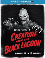 CREATURE FROM THE BLACK LAGOON New Sealed Blu-ray 3D + Blu-ray
