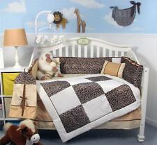 White Chenille Giraffe Minky Crib Nursery Bedding Set 13 pcs included Diaper Bag