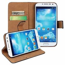 For Samsung Galaxy Model Black Flip Leather Stand Wallet Mobile Phone Case Cover
