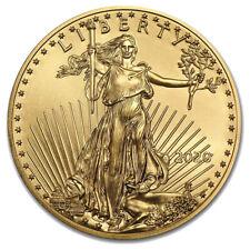 1 oz Gold American Eagle 2020 - 50 Dollar USA Goldmünze Stempelglanz