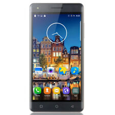 """Grey New Cheap Android Unlocked Mobile Phone Quad Core Dual SIM Smartphone 5.0"""""""