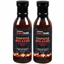 Steven Raichlen Project Smoke Bbq Barbecue Sauce- Chipotle Molasses 2 Pack