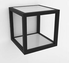 Iker Wall Cube Storage Display HCA08 Matte Black
