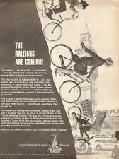 1966 vintage AD RALEIGH 3 speed lightweight English Bike & model RSW-16  092017