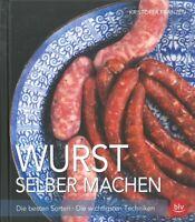 Franzen: Wurst selber machen, die besten Sorten NEU Rezepte Rezept-Buch/Handbuch