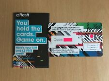 Huge Wholesale Job Lot of 300 GiffGaff Nano/Micro/Standard Sim Cards + £5 Credit