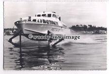 FE0635 - Italian Hydrofoil Ferry - Freccia Del Garda - postcard