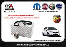 Kit distribuzione 500 Abarth Grande Punto 1.4 turbo + pompa acqua originale Fiat