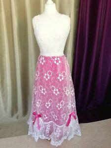 Robe de mariée vintage Style empire dentelle broderie Taille FR34 U2 UK6 EUR32