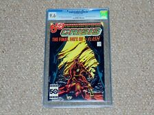 1985 DC Comics Crisis on Infinite Earths # 8 CGC 9.6 NM+ Death of the Flash