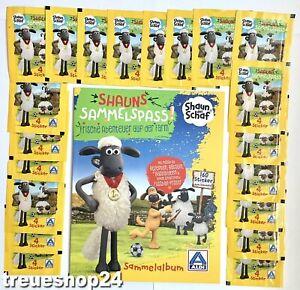 Shaun das Schaf Sammelalbum inkl. 20 Sticker-Tüten von Aldi Nord OVP!!!