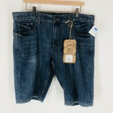 Flypaper Mens Size 36 Denim Blue Jean Shorts New With Tags