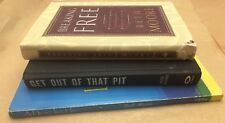 Lot of 3 Beth Moore Books Get Out Of That Pit Breaking Free A Heart Like His