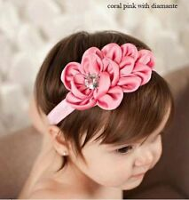 Satin Baby Hair Headbands