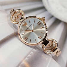 Emporio Armani AR1773,Full Rose Gold Jewelry Inspired Watch for Women MOP Dial