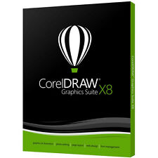 Corel Draw Graphics Suite X8 for Windows **NEW** Academic DVD Box