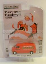 1977 '77 DODGE B100 VAN NORMAN ROCKWELL GREENLIGHT DIECAST 2018