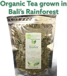 Guava Leaf Tea, Organic, Lower Sugar Levels,Diabetes,Hair Growth,Bali Rainforest