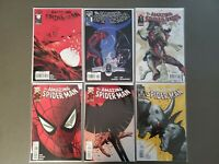 Lot of 6 Amazing Spider-Man 620-625 Morbius  Rhino Vulture Mysterio Marvel VF/NM