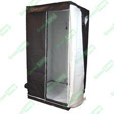 100cm x 100cm x 200cm White / Orca / Panda Grow Tent Bud Box Hydroponics
