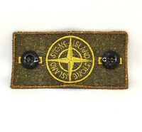 GOLD Frosted Bespoke Customised Stone Island Badge made from original WITH TRIM