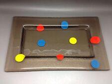 Art Glass - Fused Glass Rectangular Dish