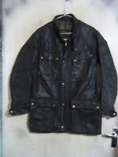VINTAGE 70'S BELSTAFF TRIALMASTER PRO WAXED MOTORCYCLE JACKET SIZE 40""