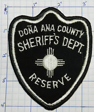 NEW MEXICO, DONA ANA COUNTY SHERIFF'S DEPT RESERVE PATCH