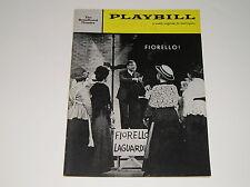 Vintage 1959 Playbill Fiorello! Fiorello The Broadhurst Theatre Playbills
