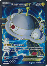 Pokemon XY Flashfire Magnezone EX 101/106 Super Rare Holo Card