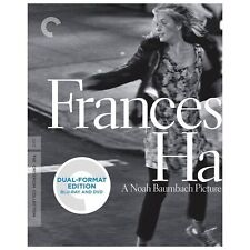 Frances Ha (Blu-ray/DVD, 2013, 2-Disc Set, Criterion Collection) Brand New