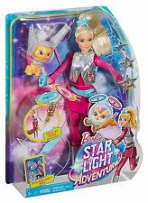 Barbie Star Light Adventure Galaxy Barbie Doll And Flying Space Cat Ages 3+ Toy