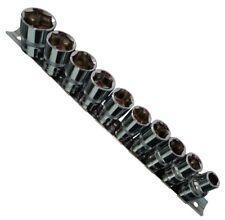 10 Llaves de vaso 1/2 6 caras 10/13/14/15/16/17/18/19/21/24mm