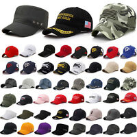 Herren Basecap Baseball Cap Verstellbar Sonnenhüt Hut Schirmmütze Snapback Mutze