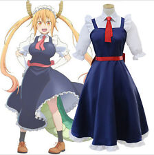 Miss Kobayashi's Maid Dragon Cosplay Connor Costumes Maid Complet Dress Outfits